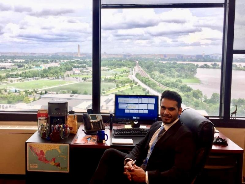 Fardous Rahmani in office